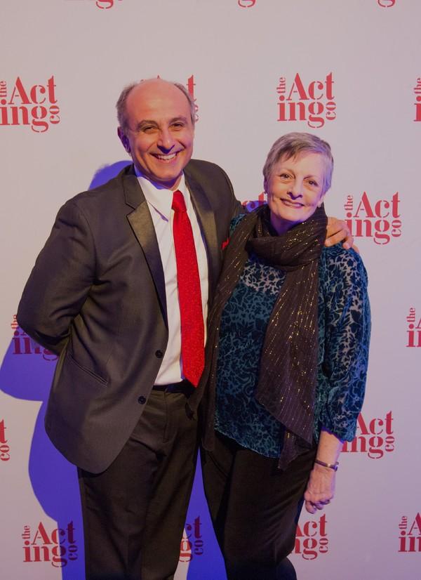 Stephen DeRosa and Dana Ivey