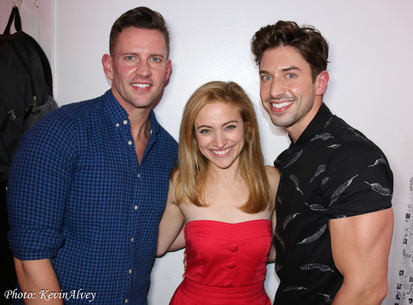 Ben Engle, Christy Altomare and Nick Adams