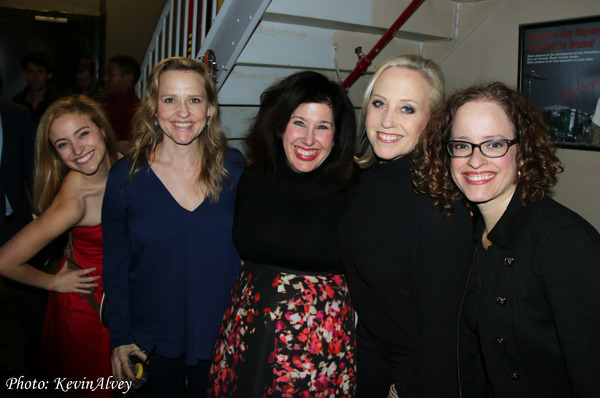 Christy Altomare, Anika Larsen, Marcy Heisler, Sally Wilfert and Lynne Shankel