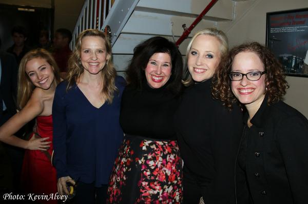Christy Altomare, Anika Larsen, Marcy Heisler, Sally Wilfert and Lynne Shankel Photo