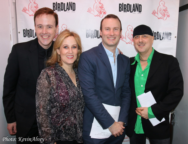 Michael Patrick Walker, Zina Goldrich, Michael Croiter and Steve Marzullo