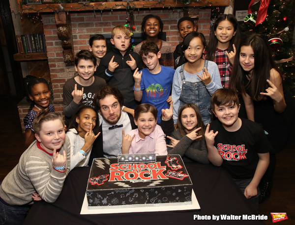 Photo Coverage:  SCHOOL OF ROCK Celebrates Two Years on Broadway