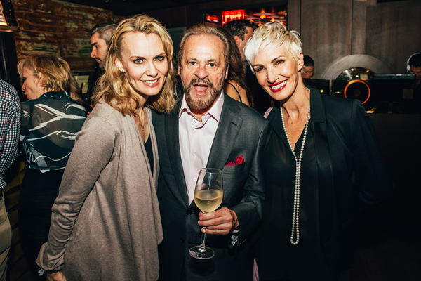 Leigh Zimmerman, Barry Weissler, Amra-Faye Wright Photo
