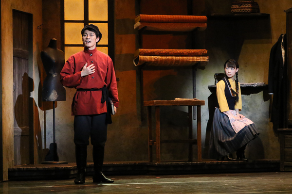 Photo Flash Get A First Look At Toho Stage S Fiddler On