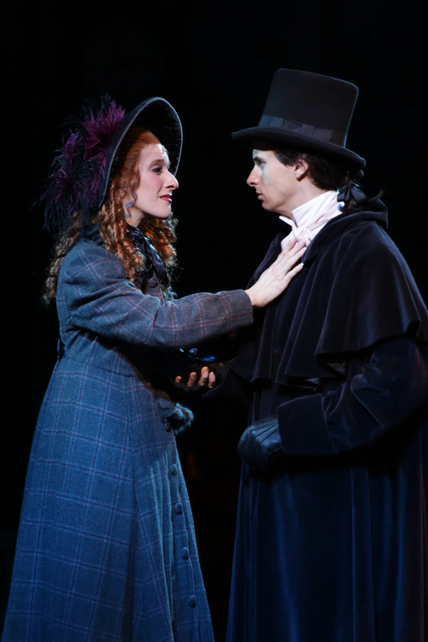 Joy Clark (Belle) and Ryan Mardesich (Young Scrooge)  Photo