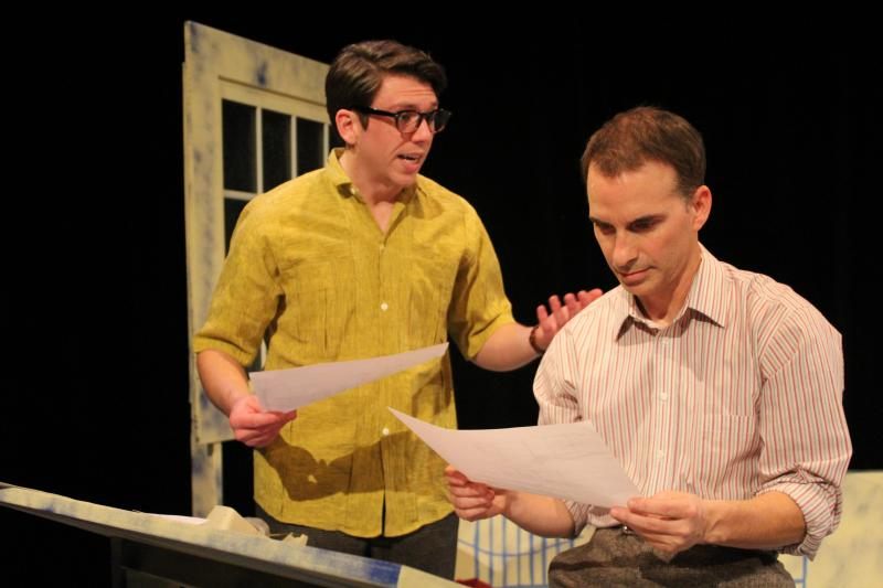 BWW Review: Charlotte's Off-Broadway Poignantly Pieces THREE DAYS OF RAIN Together