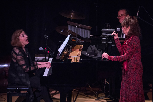 Nancy Ford (at piano) with Gretchen Cryer