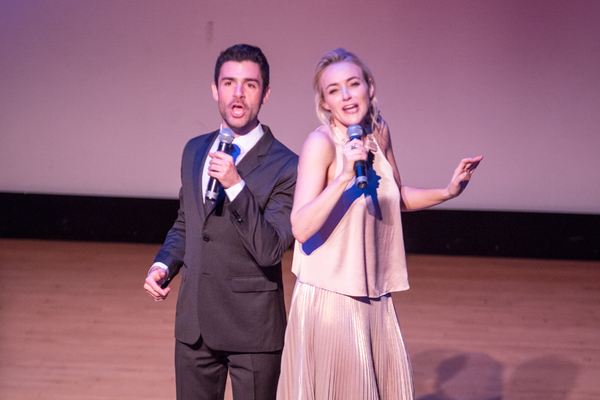 Adam Kantor and Betsy Wolfe