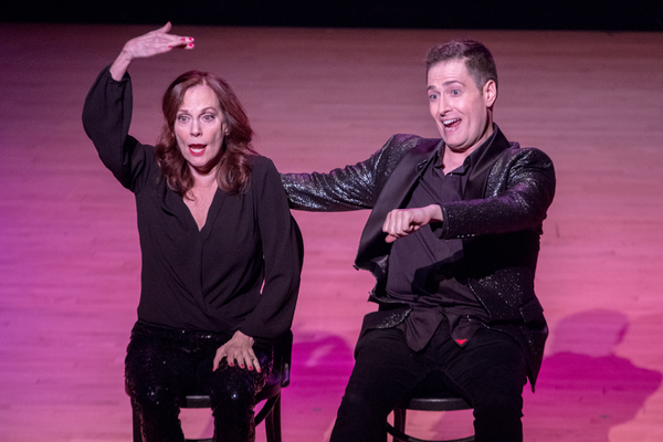 Lesley Ann Warren with Randy Rainbow