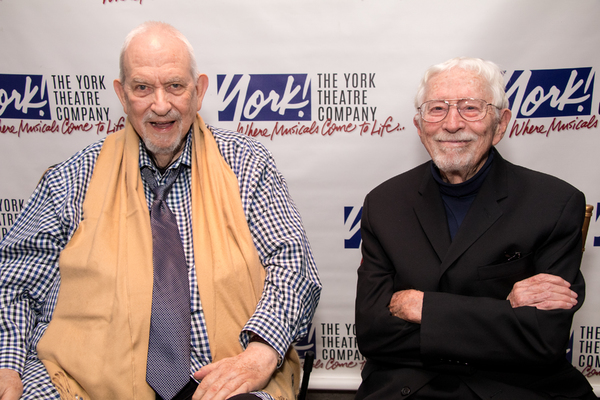 2017 Oscar Hammerstein Award honorees Harvey Schmidt and Tom Jones Photo