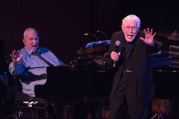 Harvey Schmidt (at piano) and Tom Jones
