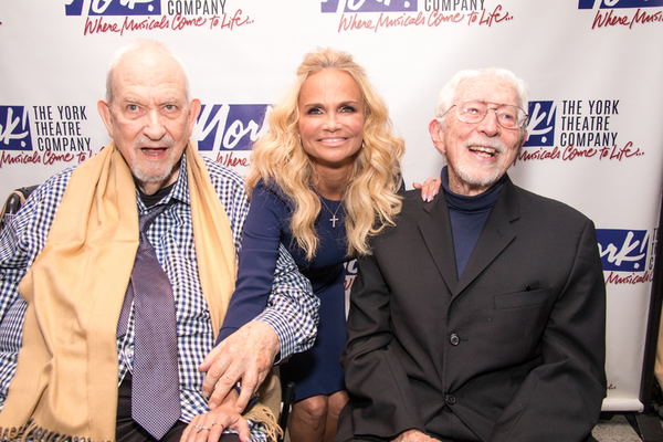Harvey Schmidt, Kristin Chenoweth and Tom Jones