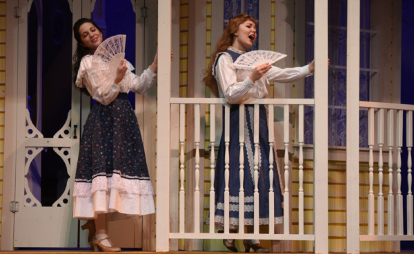 Lisa Schrock-Ohlinger plays Rose and Sarah Hodgman plays Esther in the Croswell Opera Photo