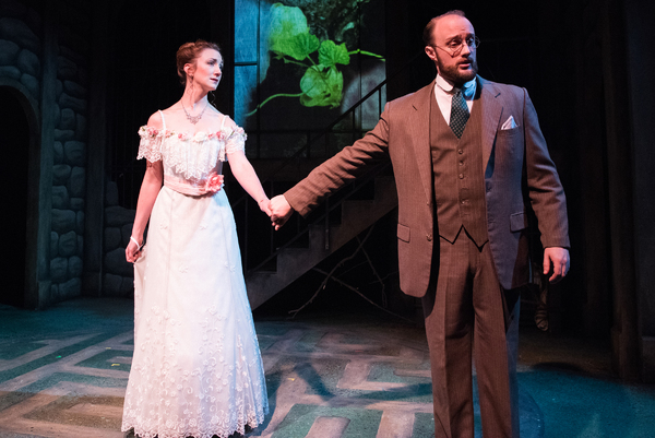 (L to R) Sharon Rietkerk as Lily and Brian Watson as Archibald Craven