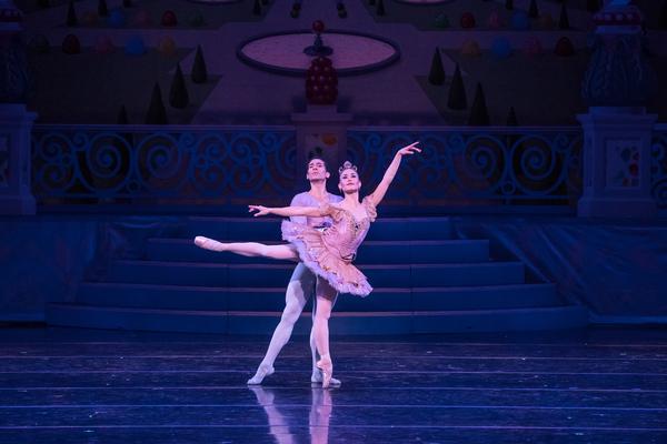 KC Ballet Dancer Tempe Ostergren and Michael Davis.