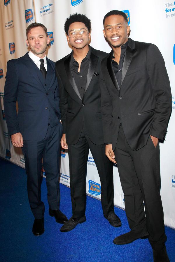 Austin Hebert, Nathan Davis Jr. and Malcolm David Kelley