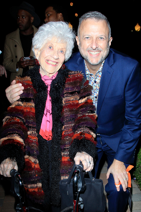 Charlotte Rae and Keith McNutt Photo