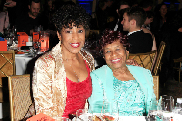 Dawnn Lewis and her mother
