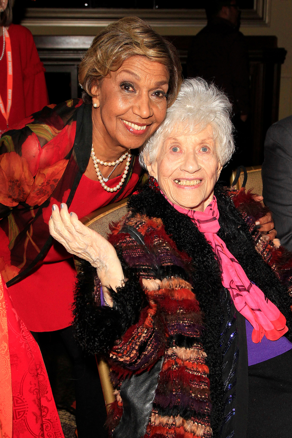 Dolores Robinson and Charlotte Rae Photo