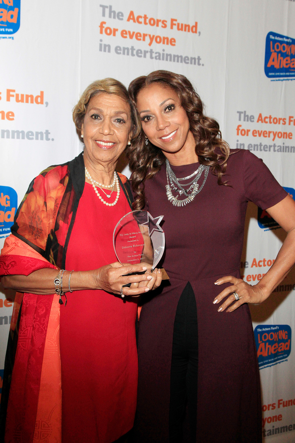 Dolores Robinson and Holly Robinson Peete