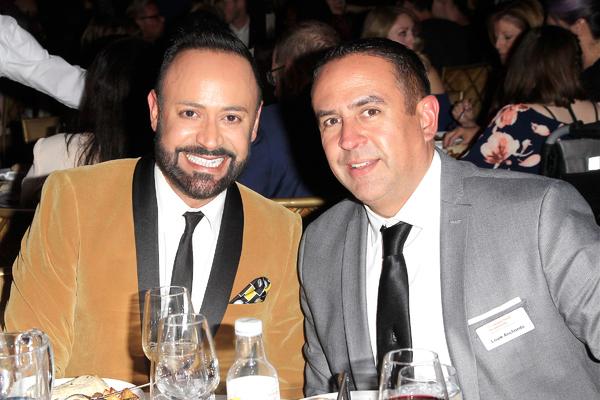 Nick Verreos and Louie Anchondo Photo