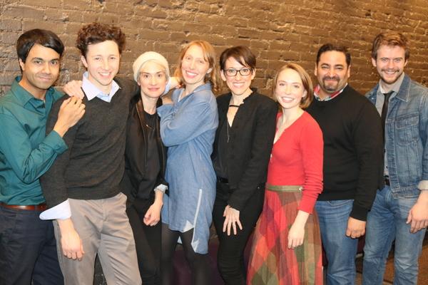 Debargo Sanyal, Adam Green, Jennifer Morris, Crystal Finn, Lynn Rosen, Jacque Emord-N Photo