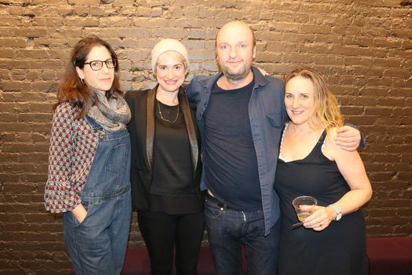 Anne Kauffman, Jennifer Morris, Matthew Maher, Susan Bernfield Photo