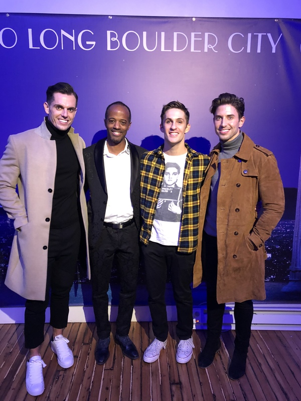 Kyle Brown, Jordan Black, Jimmy Fowlie and Nick Adams