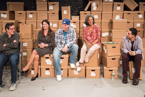 Opening Night post-show talk-back with De Novo writer and director Jeffrey Solomon, Emily Joy Weiner, Manny Urena, Zuleyma Guevara, and Camilo Almonacid.