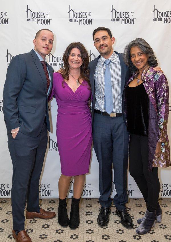 The De Novo cast: Manny Urena, Emily Joy Weiner, Camilo Almonacid and Zuleyma Guevara