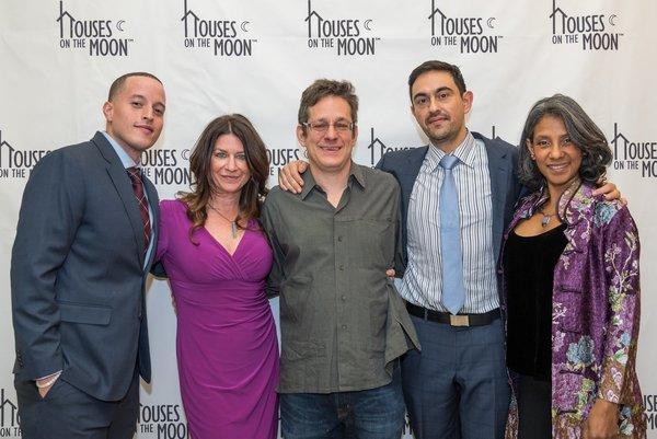 Manny Urena, Emily Joy Weiner, Jeffrey Solomon, Camilo Almonacid and Zuleyma Guevara