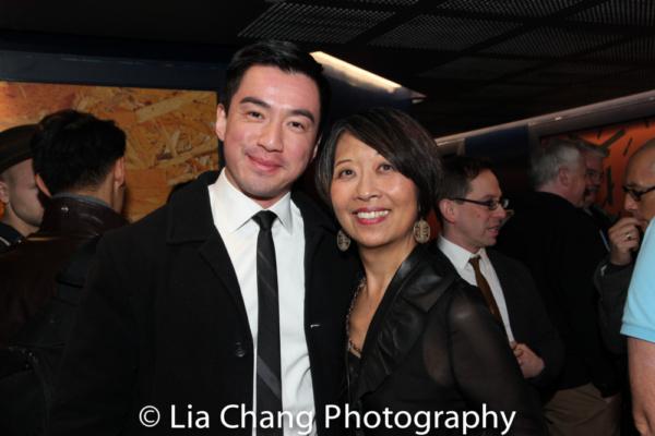 Johnny Wu and Jeanne Sakata