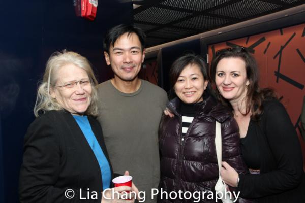 Morgan Jeness, Joel de la Fuente, Mikiko Suzuki MacAdams Photo