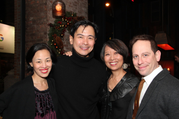 Lia Chang, Joel de la Fuente, Jeanne Sakata, Garth Kravits