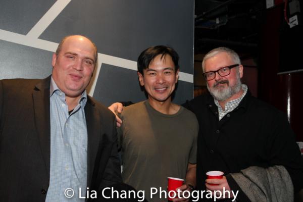 Glen Fleshler, Joel de la Fuente, John Connolly Photo