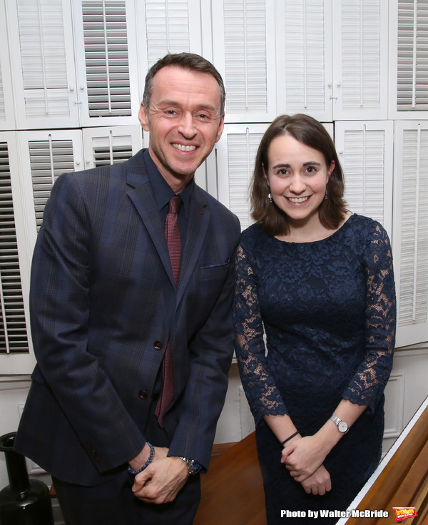 Andrew Lippa and Madeline Smith