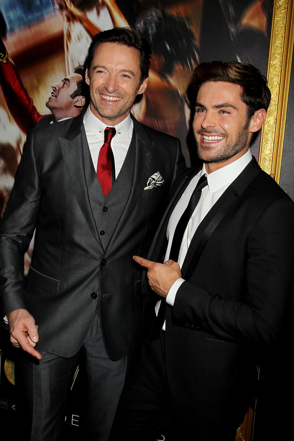 Hugh Jackman, Michael Gracey  Photo