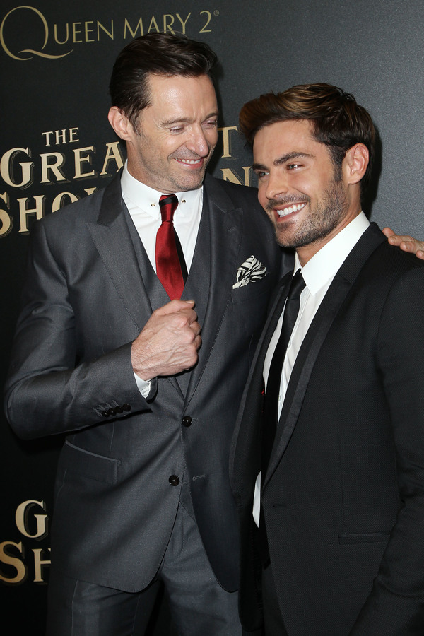 Hugh Jackman, Zac Efron Photo