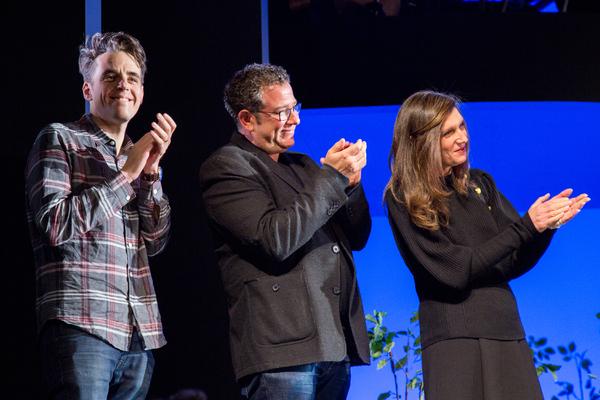 Steven Levenson, Michael Greif, Stacey Mindich