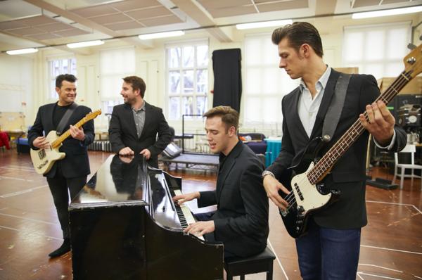 Simon Bailey, Michael Watson, Declan Egan, Lewis Griffiths Photo