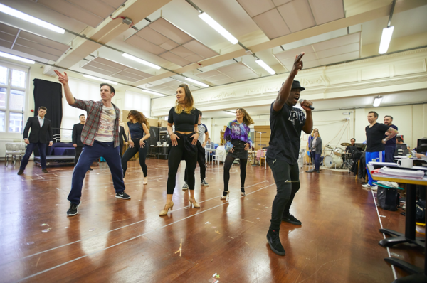 Photos: First Look at Rehearsals for the UK and Ireland Tour of JERSEY BOYS