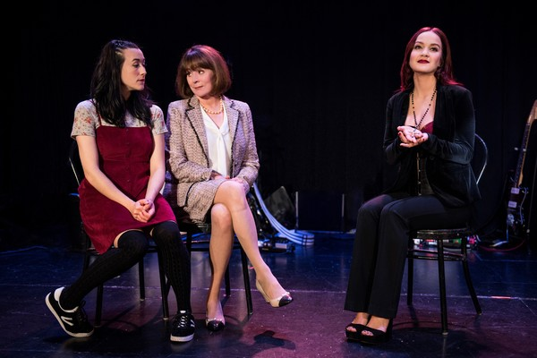 Jessie Shelton, Patricia Richardson and Lauren Zakrin Photo