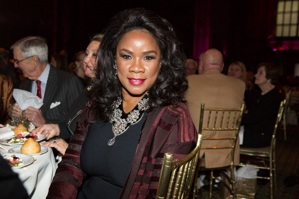 Mezzo-soprano Denyce Graves at the 83rd Annual Metropolitan Opera Guild Luncheon at Cipriani 42nd Street on December 7, 2017