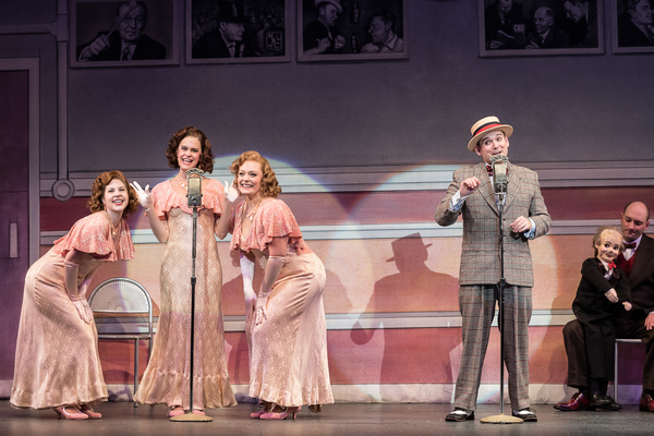 Elena Glass, Kersten Rodau, Elise Benson, and Randy Schmeling in Annie