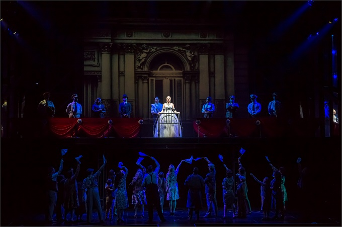 BWW Review: Rainbow Tour of EVITA at Artscape a Qualified Yes, with a Magnificent Eva in Emma Kingston
