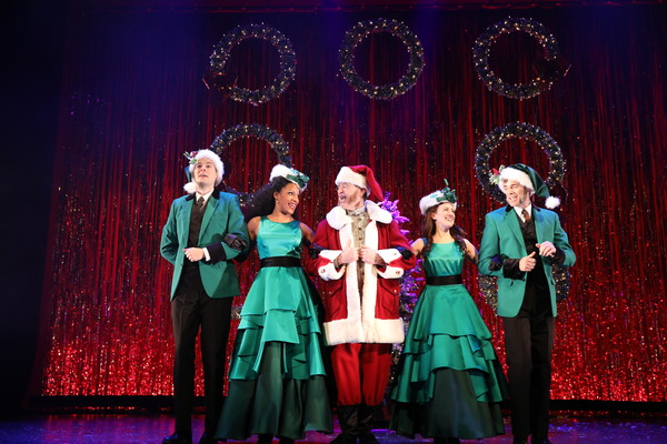 Photo Flash: First Look at EBENEZER SCROOGE'S BIG PLAYHOUSE CHRISTMAS SHOW at Bucks County Playhouse