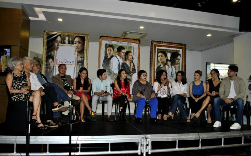 Photo Coverage: ANG LARAWAN, The Movie, Cast & Creative Team Meet the Press