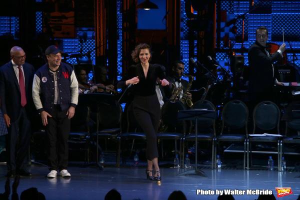 Reggie Jackson, Danny Burstein and Maggie Gyllenhaal