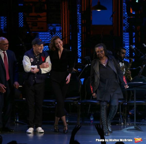 Reggie Jackson, Danny Burstein, Maggie Gyllenhaal, Whoopi Goldberg
