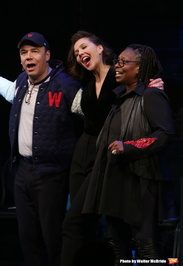 Danny Burstein, Maggie Gyllenhaal, Whoopi Goldberg Photo